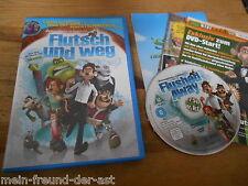 DVD FILM Flutsch und weg (FSK 0_81min) DREAMWORKS / AARDMAN