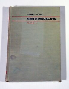 Methods of Mathematical Physics, Vol. 1 (1953), by Courant & Hilbert