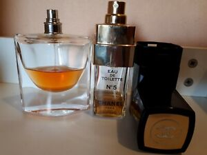 La Vie Est belle Lancome EDP 75ml & Chanel NO.5 EDT by Chanel 100ML  - U SED