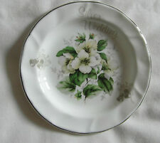 FENTON CHINA COMPANY BONE CHINA SILVER WEDDING DISH or pin tray 12cm