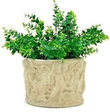 Pair Vintage Cherub Flower Pots Concrete Stone Garden Patio Angel Putti Planter