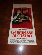 LOCANDINA, LA BADESSA DI CASTRO BARBARA BOUCHET CRISPINO CAPPONI
