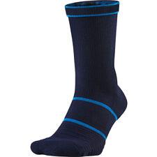 NIKE COURT ESSENTIAL TENNIS CUSHIONED DRI FIT CREW SOCKS BLUE UK5-8 8-11 11-14.5
