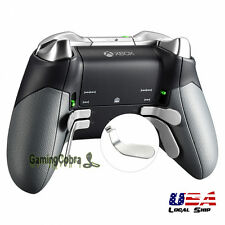 Controller Replacement 4 Paddles kit 2 Shorts & 2 Long for Xbox One Elite Silver