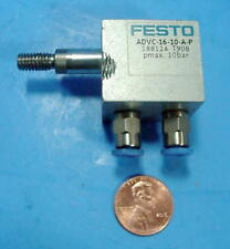 Festo Mini Air Cylinder Advc-16-10-A-P 188124 T908 Multiples Available Nice