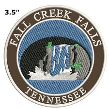 Explore Fall Creek Falls Tennessee Embroidered Patch Iron / Sew-On Souvenir