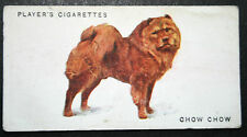 Chow Chow   Edible Dog      Original Vintage  Colour Card  # VGC