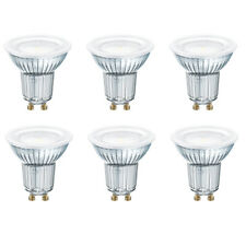 OSRAM LED STAR PAR16 GU10 120° GLAS 6,9W=80W 575lm neutral white 4000K nodim 6er