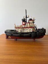 Antique Wooden Builders Model Tug Boat Britannia
