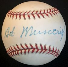 Bob Muncrief dec.96 PSA/DNA 2xWSC 1951 NY Yankees 1948 Indians  Signed Baseball