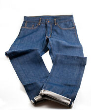 Railcar fine goods Made in USA selvedge Japanischer Kuroki Denim rigid raw