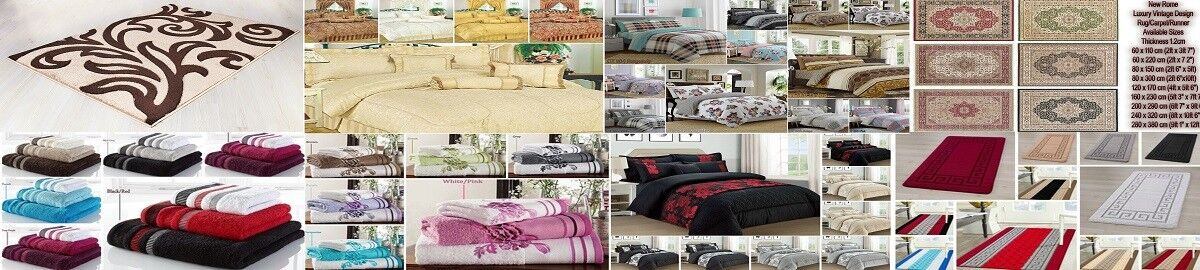 Bedding and Rugs