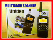 RADIO SCANNER MULTIBANDE INCENDIE DEPARTMENT POLICE AIRBAND TAXI MARINE PMR NEUF