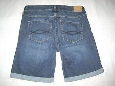 A&F Abercrombie & Fitch Jeans SHORTS Hose blau Gr. 2 W 26 * BOYSHORT NEU