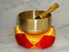 Feng Shui - 5″ Golden Brass Singing Bowl (Cleanse & Energize)