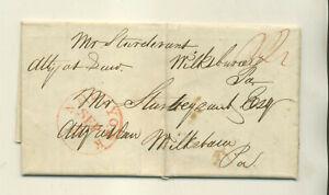 1836 ENO & PHILIPS NYC TO MR STURDEVANT WILKES BARRE PA STMPLS LTTR CVR