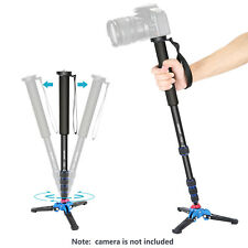 Neewer Extendable Camera Monopod Holder with Tripod Support Base for Canon Nikon