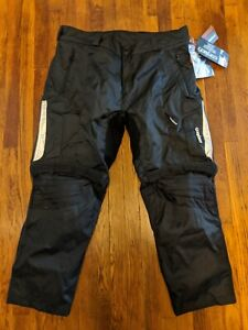 NEW - Cortech GX Sport CE Armored Waterproof Motorcycle Pants - 3XL Short