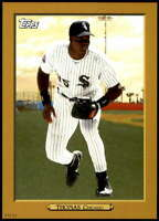 Frank Thomas 2020 Topps Turkey Red 2020 5x7 Gold #TR-8 /10 White Sox