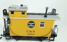 LGB G Scale New C&S Colorado Southern Caboose in Window Box 43650