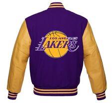 NBA Los Angeles Lakers beautiful Varsity jacket small medium  Large XL 2XL 3XL