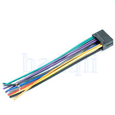 16 Pin JVC Car Stereo Radio Wire Wiring Harness Plug Cabke TW