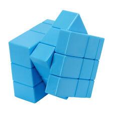 Blue Toy 3x3x3 Mirror Magic Cube Stickerless Variant Abnormity Cube Twist Puzzle