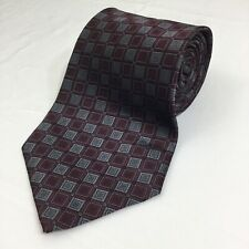 Dockers DuPont Teflon Mens Geometric 100% Silk Neck Tie 4""