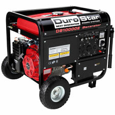 DUROSTAR DS10000E ELECT START GAS RV120/240-50AMP-WHEEL KIT- BATTERY-EPA/CALIF