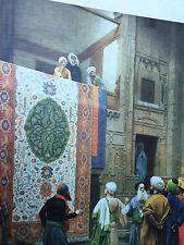 teppichverkäufer orientale Quadro su tela 50x70cm Stampa artistica MDF PIASTRA