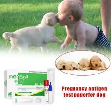 Early Pregnancy Test Strips Dog Cat Detection Gravidity Paper Hot U7U5