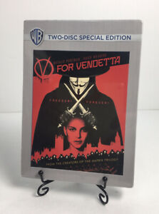 V For Vendetta (DVD, Two-Disc Special Edition) SEALED