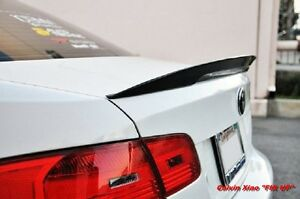 MIT CARBON FIBER PERFORMACE For E92 REAR BOOT TRUNK SPOILER