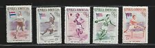 "Dominican Republic, Mnh lot of 5 from 1957, scott# 474-78, ""Olympics"" see scan"