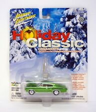 JOHNNY LIGHTNING 1967 DODGE HEMI CHARGER Holiday Classic Ornaments Car MOC 2003