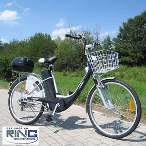 """Elektrofahrrad 26"""" E-Bike 250 W Elektro Fahrrad Pedelec City Bike Rad schwarz"""