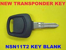NEW 1999 Maxima & I30 CLONE Transponder Chip Key Blank NSN11T2 H0564-4L605 UNCUT