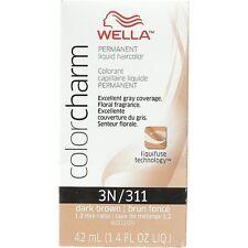 Wella Color Charm Liquid Haircolor 3n/311 Dark Brown, 1.4 oz