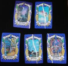 Harry potter lenticular cards x 5, 2001