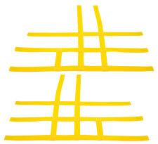 Kawasaki KFX 450R 700 450 Nerf Bar Nets  Fits Alba Tusk   Yellow     J