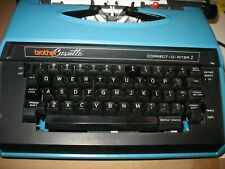 Vintage Working Brother Correct-O-Riter I Portable Electric Typewriter & Case