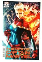 Life Of Captain Marvel Vol 2 #1 Cover B Variant Stanley Artgerm Lau Cover