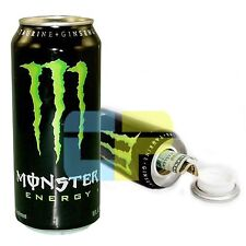 Green Energy Drink Diversion Fake Stash Safe Can w/ Secret Concealed Compartment