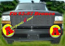92-97 96 1994 1995 Ford F150 F250 Bronco Billet Grille