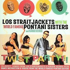 FREE US SHIP. on ANY 2 CDs! ~Used,VeryGood CD LOS STRAITJACKETS: Twist Party