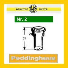 PEDDINGHAUS Rundstempel Nr.2 grün 3,0-16,0mm frei wählbar Rund-Stempel Stanze