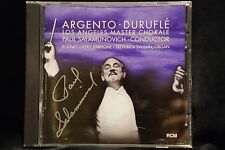 Paul Salamunovich SIGNED  CD Argento Durufle