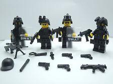 (no.4-27) custom swat police navy seal lego gun army weapons LEGO minifigures