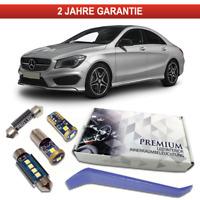 Set Diamantgrill+Waben Folie in Chrom-Optik passend für Mercedes CLA C117//X117