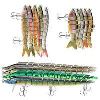 6 8 13 Segment Multi Jointed Fishing Lures Minnow Crank Baits Bass Swimbait SD